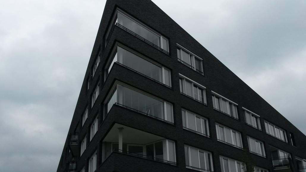 Balkon afschermen glas