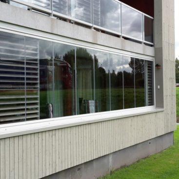 Glazen balkon Schagen